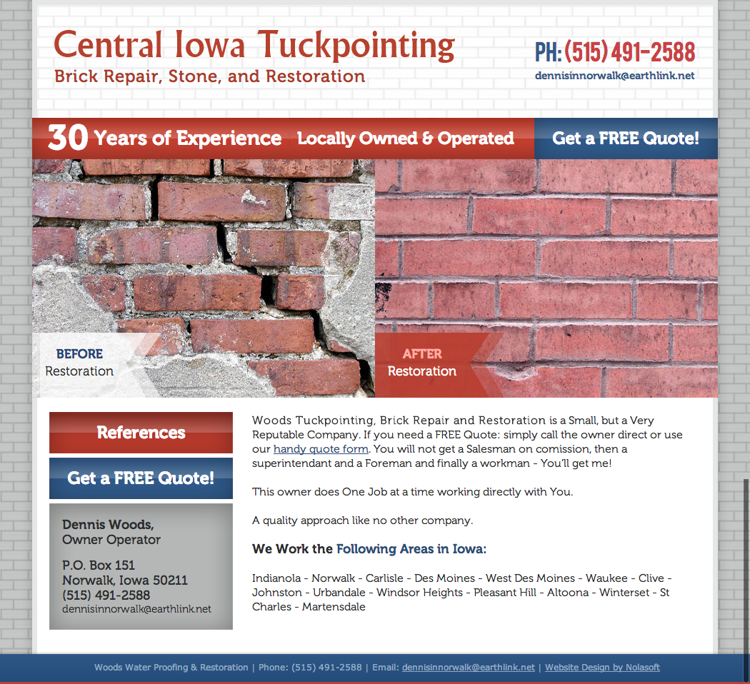 Central Iowa Tuckpointing