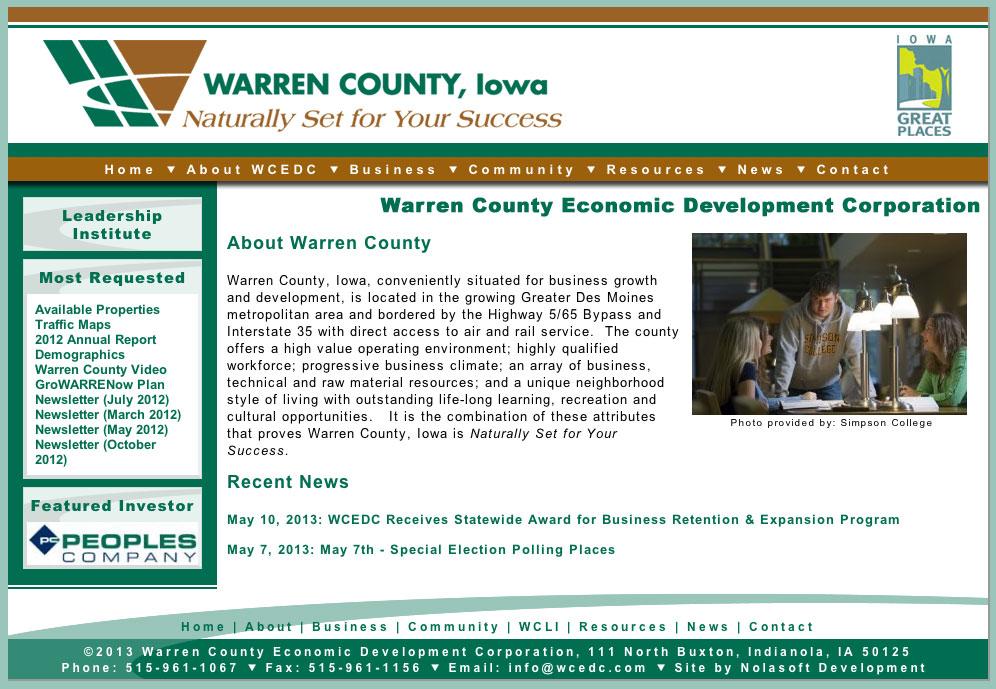 Warren County Economic Development